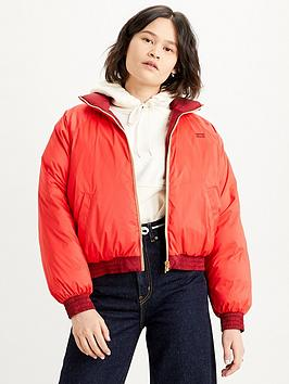 levis-lydia-reversible-padded-coat-red