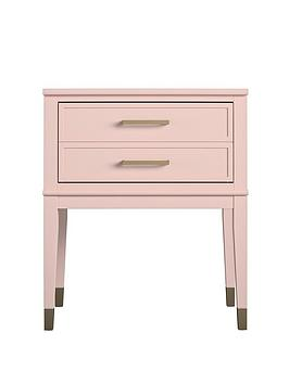 cosmoliving-by-cosmopolitan-westerleigh-side-table--pinkgold