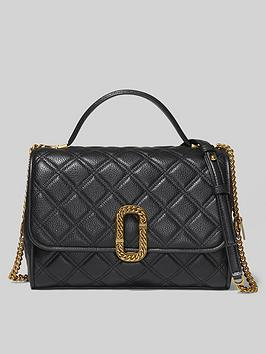 marc-jacobs-top-handle-quilted-cross-body-bag-black
