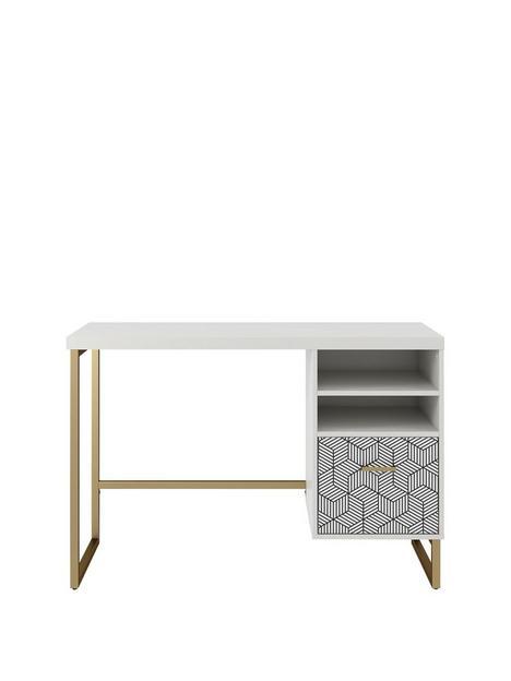 cosmoliving-by-cosmopolitan-scarlett-single-pedestal-desk-white