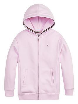 tommy-hilfiger-girls-heritage-logo-zip-through-hoodie-pink