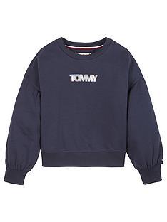 tommy-hilfiger-girls-iridescent-badge-sweat-navy