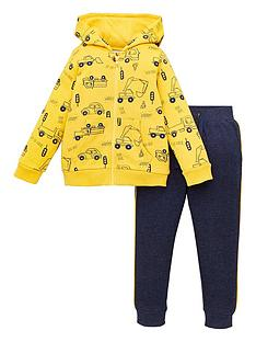 mini-v-by-very-boys-2-piece-truck-all-over-print-hoodie-and-jog-set-yellownavy