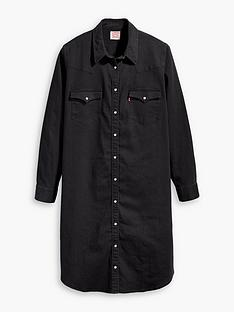 levis-plus-western-dress-black