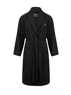 lyle-scott-waffle-dressing-gown