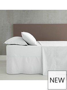 catherine-lansfield-non-ironnbspdouble-extra-deep-fitted-sheet-ndash-white