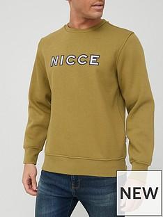nicce-truman-sweatshirt-olive
