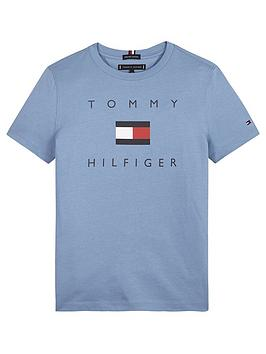 tommy-hilfiger-boys-short-sleeve-logo-t-shirt-blue