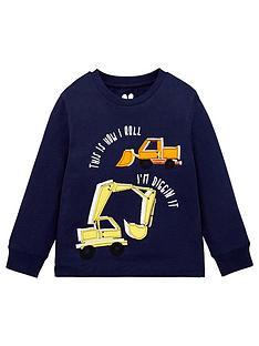 mini-v-by-very-boys-truck-applique-t-shirt-navy