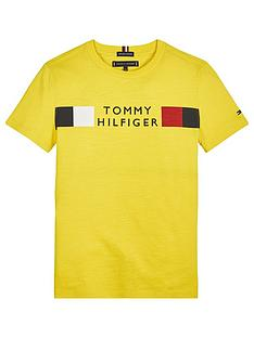 tommy-hilfiger-boys-short-sleeve-global-stripe-t-shirt-yellow
