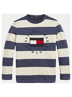 tommy-hilfiger-boys-long-sleeve-heritage-logo-stripe-t-shirt-cream