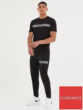 nicce-axiom-t-shirt-black