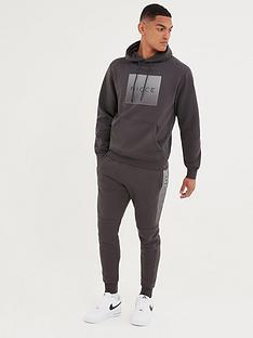 nicce-rhombus-hoodie-coal