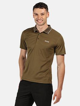 Regatta Maverik Polo Shirt - Khaki