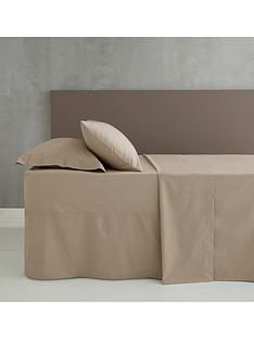 catherine-lansfield-easy-iron-percale-extra-deep-valance-fitted-sheet-ndash-natural