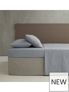 catherine-lansfield-easy-iron-180-thread-count-super-king-extra-deep-fitted-sheet