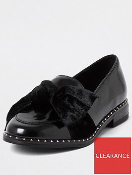 river-island-girls-studded-bow-loafer--nbspblack