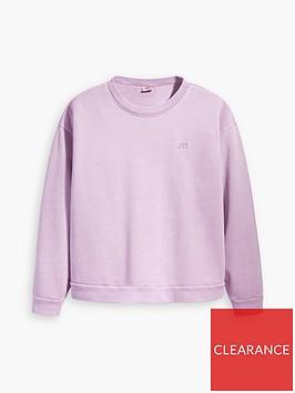 levis-plus-diana-crew-neck-sweat-top-lavendernbsp
