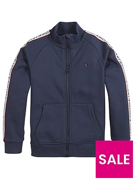 tommy-hilfiger-boys-tape-funnel-neck-zip-through-navy