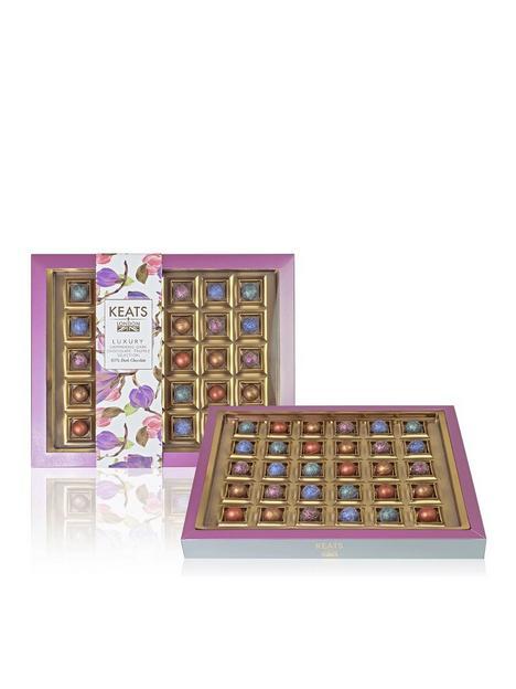 keats-assortment-of-mocktail-flavoured-dark-chocolate-truffles-gift-box-30-pieces