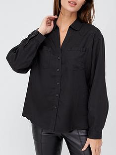 v-by-very-soft-touch-casual-shirt-charcoal