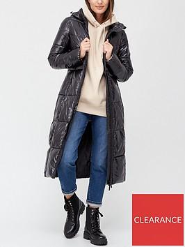 v-by-very-long-high-shine-padded-coat-black