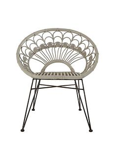premier-housewares-manado-grey-rattan-chair