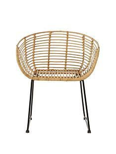 premier-housewares-lagom-natural-rattan-chair