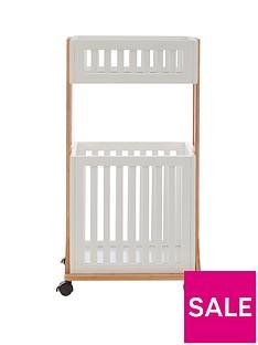 premier-housewares-nostra-2-tier-storage-trolley
