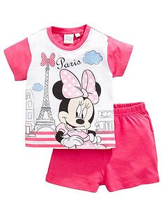 minnie-mouse-baby-girl-minnie-mouse-paris-shortie-pjs-fuchsia