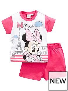 minnie-mouse-baby-girl-minnie-mouse-paris-shortie-pjs-fuchsia