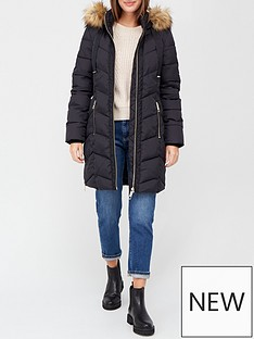 v-by-very-premium-padded-coat-with-woven-trim-black