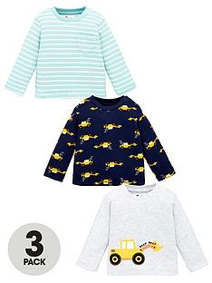 v-by-very-baby-boys-tractor-3-pack-tops