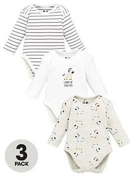 v-by-very-baby-unisex-3-pack-bodysuits-multi