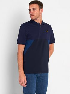 lyle-scott-trio-geo-polo-shirtnbsp--navynbsp