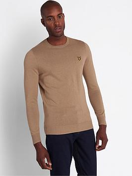 lyle-scott-lyle-scott-crew-neck-cotton-merino-jumper