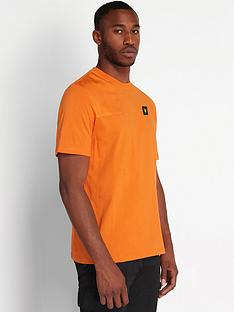 lyle-scott-casuals-ripstop-detail-t-shirt-orange