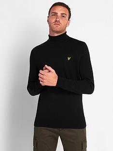 lyle-scott-roll-neck-jumper-blacknbsp