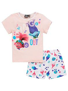 dreamworks-trolls-girlsnbspsing-out-shortie-pjs-pink