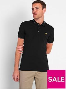 lyle-scott-branded-collar-polo-shirt-blacknbsp