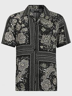 allsaints-venture-bandana-print-short-sleeve-shirt-black