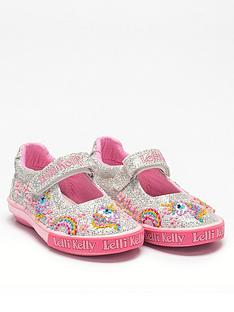 lelli-kelly-girlsnbspabigail-dolly-shoe-silver