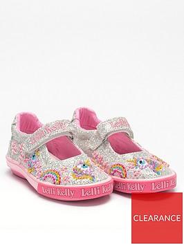 lelli-kelly-girlsnbspabigail-dolly-shoe-silver
