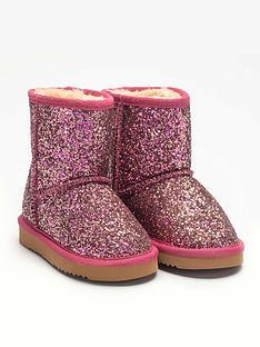 lelli-kelly-girlsnbspsandra-glitter-ankle-boot-pink