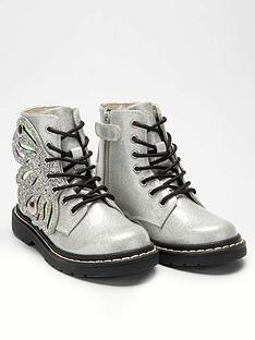 lelli-kelly-girlsnbspglitter-fairy-wings-ankle-boot-silver-glitter