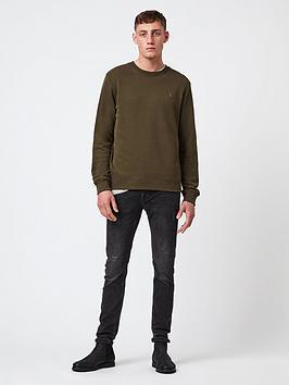 allsaints-raven-crew-neck-sweatshirt-khaki