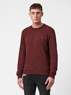 allsaints-raven-crew-neck-sweatshirt-burgundy
