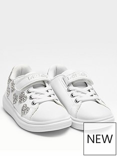 lelli-kelly-heart-glitter-trainer-white