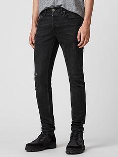 allsaints-rex-slimnbspfit-jeans-black