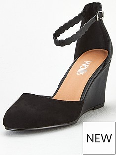 wallis-scalloped-strap-two-part-wedge-black
